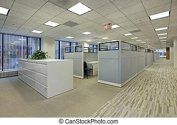 kabinki, biuro, powierzchnia