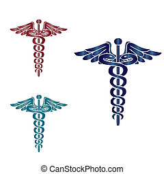 kaduceusz, symbol, medyczny
