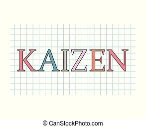 kaizen, pojęcie, teoria, handlowy
