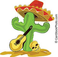 kaktus, meksykanin