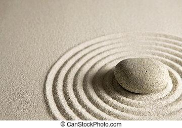 kamień, zen