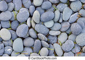 kamienie, gładki