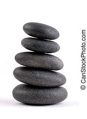 kamienie, sztaplowany