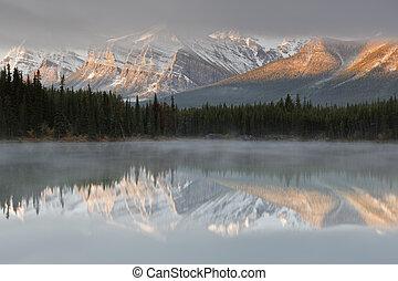 kanada, jezioro, herbert