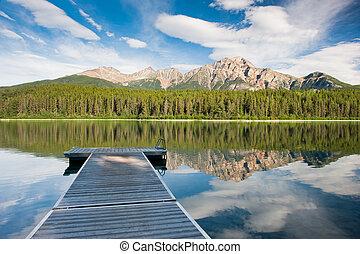 kanada, jezioro, patricia