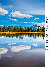kanada, płytki, jezioro