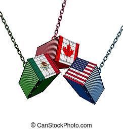 kanada, zjednoczony, meksyk, porozumienie, handel, stany
