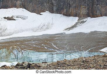 kanadyjczyk, lodowiec, edith, obsada, alber, jasper., cavell, krajobraz
