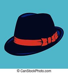 kapelusz, fedora