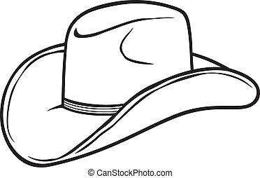 kapelusz, kowboj