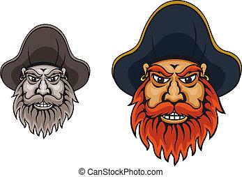 kapitan, pirat