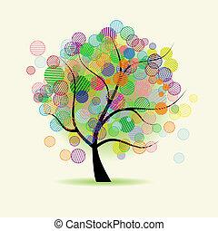 kaprys, sztuka, drzewo