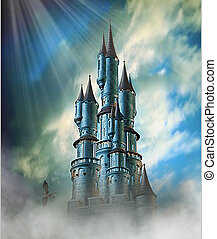 kaprys, zamek