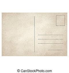 kartka pocztowa, rocznik wina, stary