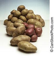 kartofle, stos