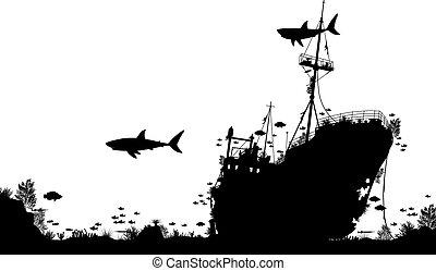 katastrofa morska, rafa
