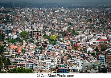 kathmandu, antenowy prospekt