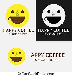 kawa, szczęśliwy