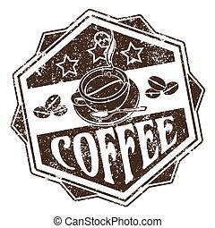 kawa, tłoczyć