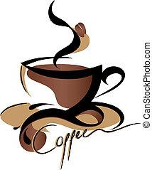 kawa, znak