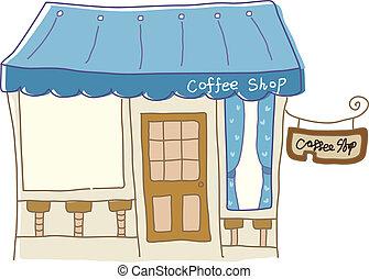 kawiarnia, ikona