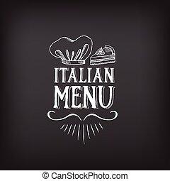 kawiarnia, szablon, wektor, illustration., menu, restauracja, design.