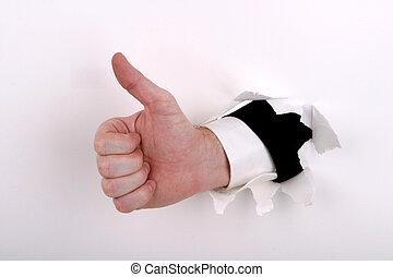 kciuki, handlowy