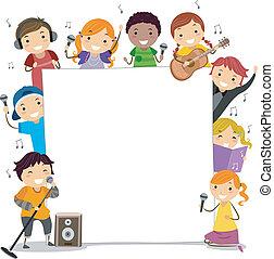 klasy, śpiew, dzieciaki
