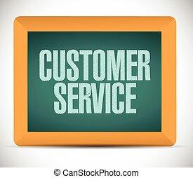 klient, board., służba, znak