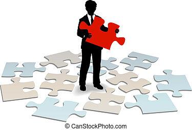 klient, odpowiedź, poparcie, pomoc, handlowy