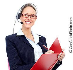 klient, operator, służba