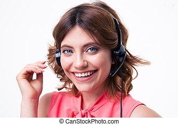 klient, operator, samica, służba
