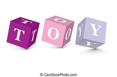 kloce, pisemny, zabawka, słowo