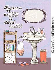 klucz, higiena, zdrowie, dobry