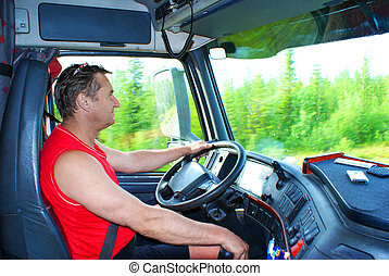 koło, kierowca samochodu