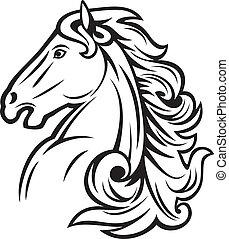 koń, głowa