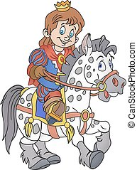 koń, książę