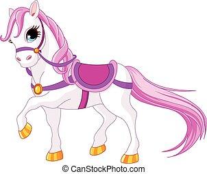 koń, księżna