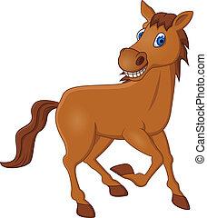 koń, rysunek