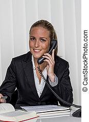 kobieta interesu, biuro