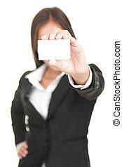 kobieta interesu, handlowa karta, dzierżawa