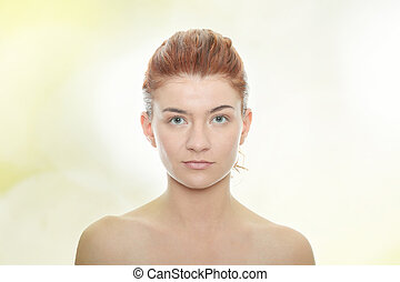 kobieta twarz