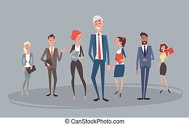 koledzy, grupa, handlowy zaludniają, ludzki, drużyna, zasoby