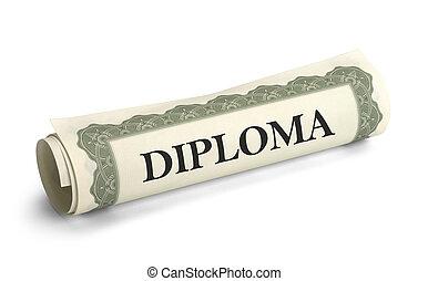 kolegium, dyplom