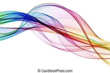 kolor, abstrakcyjny, skład