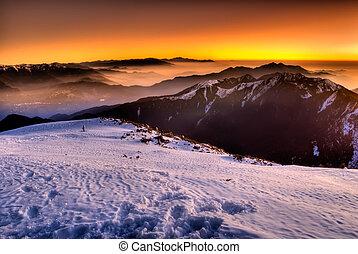 kolor, góra