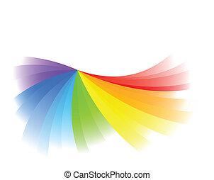 kolor, jasny, wektor, tło
