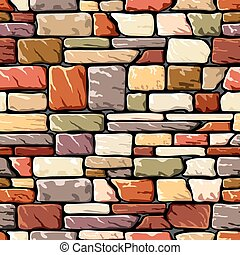 kolor, kamień ściana