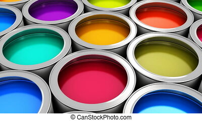 kolor, namalujcie cans