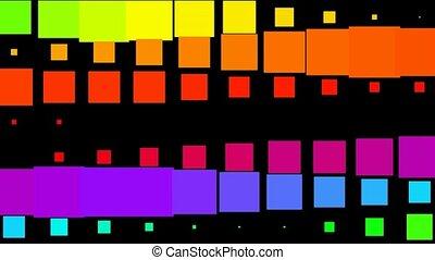kolor, puls, próbka, skwer